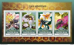 TOGO 2016 - Bees. Official Issue. - Honeybees