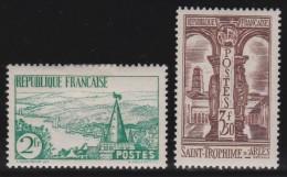 France    .     Yvert   .   301/302        .        *       .       Neuf Avec Charniere   .     /    .   Mint-hinged