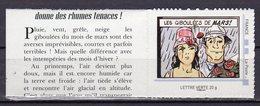 France 2013.Timbre Autocollant.Issu Du Collector Le Calendrier.Les Giboulés De MARS.