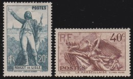 France    .     Yvert   .   314/315     .        *       .       Neuf Avec Charniere   .     /    .   Mint-hinged