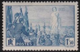 France    .     Yvert   .    328     .        *       .       Neuf Avec Charniere   .     /    .   Mint-hinged