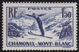 France    .     Yvert   .    334       .        *       .       Neuf Avec Charniere   .     /    .   Mint-hinged