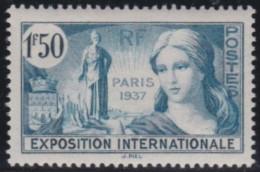 France    .     Yvert   .    336         .        *       .       Neuf Avec Charniere   .     /    .   Mint-hinged