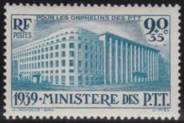 France    .     Yvert   .     424        .        *       .       Neuf Avec Charniere   .     /    .   Mint-hinged