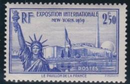 France    .     Yvert   .     458        .        *       .       Neuf Avec Charniere   .     /    .   Mint-hinged