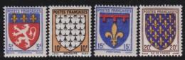 France    .     Yvert   .     572/575          .        *       .       Neuf Avec Charniere   .     /    .   Mint-hinged