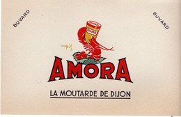 Buvard Amora, La Moutarde De Dijon. - Moutardes
