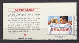 France 2013.Timbre Autocollant.Issu Du Collector Le Calendrier.JANVIER Le Mois Du Blanc