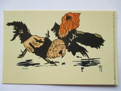 Combat De Coq S De M SLOOG - Les Chefs D'oeuvre De La Carte Postale - Collection NEUDIN - 1979 Tirage Limité - Oiseaux