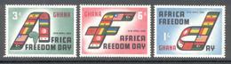 Ghana 1960 - Michel 77 - 79 **