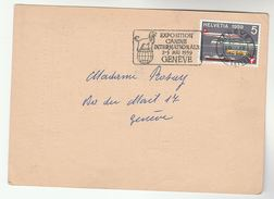 1959 SWITZERLAND COVER  SLOGAN Illus DOG EXPO Dogs , ANTI VIVISECTION LEAGUE CARD Stamps