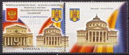 Romania MNH Russia-Romania Partnership Stamp And SS