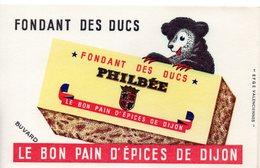 Buvard Philbée, Le Bon Pain D'épices De Dijon. - Peperkoeken