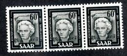 W4156  Saar 1953  Michel #273** ( 1.20€ )  Offers Welcome. - 1947-56 Ocupación Aliada