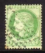 FRANCE - YT 53  OBLITERATION ETOILE DE PARIS 31