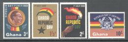 Ghana 1960 - Michel 80 - 83 **