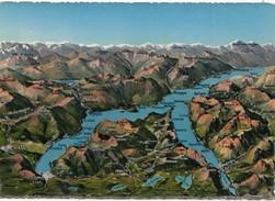 Panorama Del Lago Di Como, Map, Unused Postcard [19599] - Como