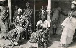 NIGERIA MAKOKO ROI DES BATEKE ET SA FAMILLE - Nigeria