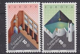 Europa Cept 1987 Liechtenstein 2v  ** Mnh (35030A)
