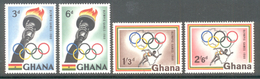 Ghana 1960 - Michel 84 - 87 **