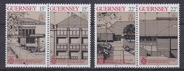 Europa Cept 1987 Guernsey 4v  ** Mnh (35030C)