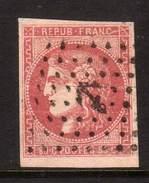 FRANCE - YT 49 BORDEAUX OBLITERATION ANCRE - BEAU TIMBRE -
