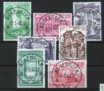 BELGIE: COB 1205/1211 Zeer Mooi Gestempeld.