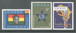 Ghana 1960 - Michel 88 - 90 **