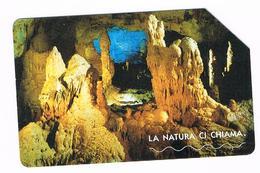Italia - Scheda Telefonica Telecom Italia - La Natura Ci Chiama - Le Grotte Di Frasassi - Italia
