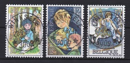 BELGIE: COB 2151/2153 Zeer Mooi Gestempeld.