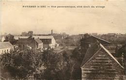- Nord -ref- A670 - Avesnes Le Sec - Vue Panoramique - Cote Droit Du Village - - France