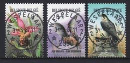BELGIE: COB 2244/2246 Zeer Mooi Gestempeld.