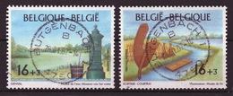 BELGIE: COB 2582/2583 Zeer Mooi Gestempeld.