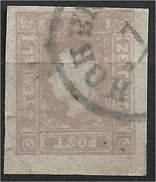 1400z8-2: Österreich 1859, ANK 11 Dunkellila (Farbe C), ANK 580.- €