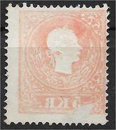 1400z8-3: Österreich 1859, ANK 13 II Gestempelt, Abklatsch