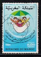 Marokko 1984, Michel# 1053 O     International Child Victims' Day