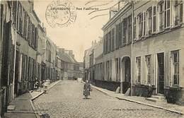 - Nord -ref- A663 - Bourbourg - Rue Faidherbe - Fillet Et Son Panier - Enfant - Enfants - Carte Bon Etat - - France