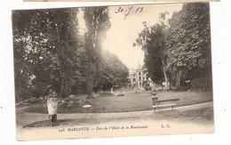 CPA Marlotte 77 Seine Et Marne Parc De L'Hôtel De La Renaissance - France