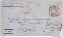 Pérou - LAC De Lima Pour Paris (75) - 18 Juillet 1936 - Oblitération Mécanique 315c - 6 CAD