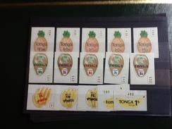 86101) Loltto Di Francobolli Di Tonga-frutta-n. 424-38-nuovi MNH** - Tonga (1970-...)