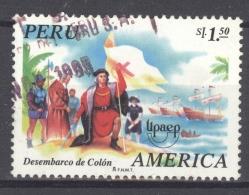 PERU 1995: YT 1052, O - FREE SHIPPING ABOVE 10 EURO