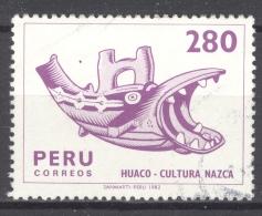 PERU 1982: YT 729, O - FREE SHIPPING ABOVE 10 EURO