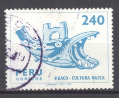 PERU 1982: YT 728, O - FREE SHIPPING ABOVE 10 EURO