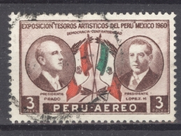 PERU - AEREO 1962: YT PA 174, O - FREE SHIPPING ABOVE 10 EURO