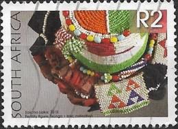 SOUTH AFRICA 2010 South African Beadwork -  2r. - Tsonga Fertility Figure FU - Afrique Du Sud (1961-...)
