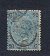 Italië/Italy/Italie/Italien 1865 Mi: 25 I Yt: 22b (Gebr/used/obl/o)(1419) - 1861-78 Victor Emmanuel II