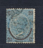 Italië/Italy/Italie/Italien 1865 Mi: 25 I Yt: 22b (Gebr/used/obl/o)(1419)