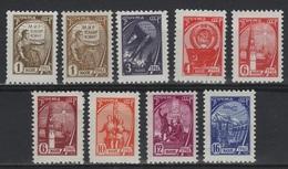 RUS 62 - RUSSIE N° 2364/74  Neufs**