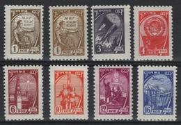 RUS 63 - RUSSIE N° 2367/74  Neufs**