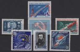 RUS 64 - RUSSIE N° 2396+2399/403  Neufs** Ou Obl.